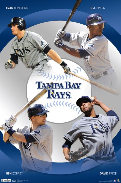 Tampa Bay Rays – MLB Wall Poster