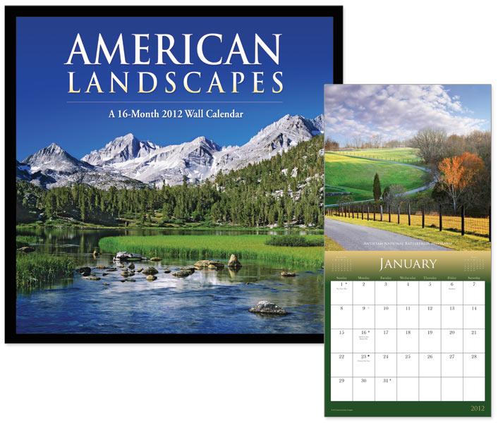 American Landscapes – Wall Calendar