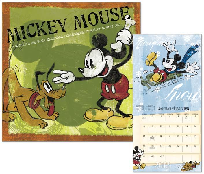 Mickey Mouse – Wall Calendar