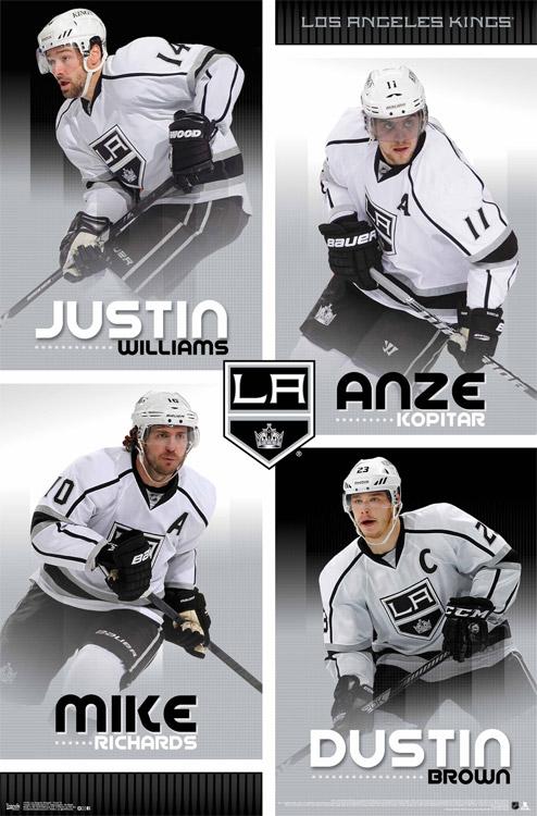 LA Kings – NHL Wall Poster