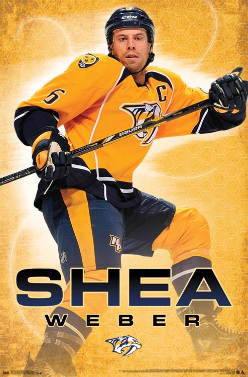 Shea Weber – NHL Wall Poster
