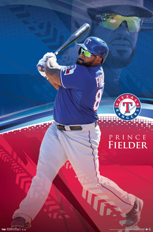 Prince Fielder – MLB Wall Poster