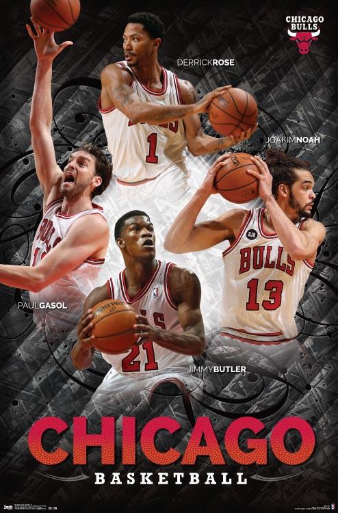 Chicago Bulls – NBA Wall Poster