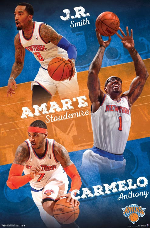New York Knicks – NBA Wall Poster
