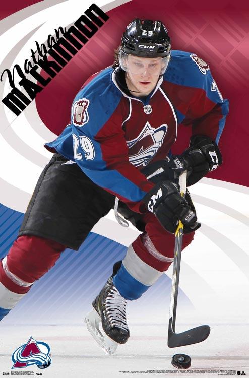 Nathan Mackinnon – NHL Wall Poster