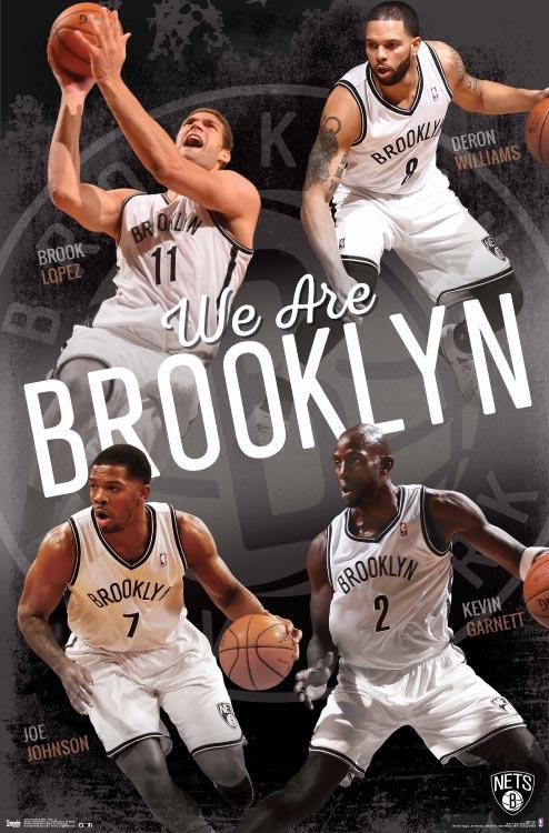 Brooklyn Nets – NBA Wall Poster