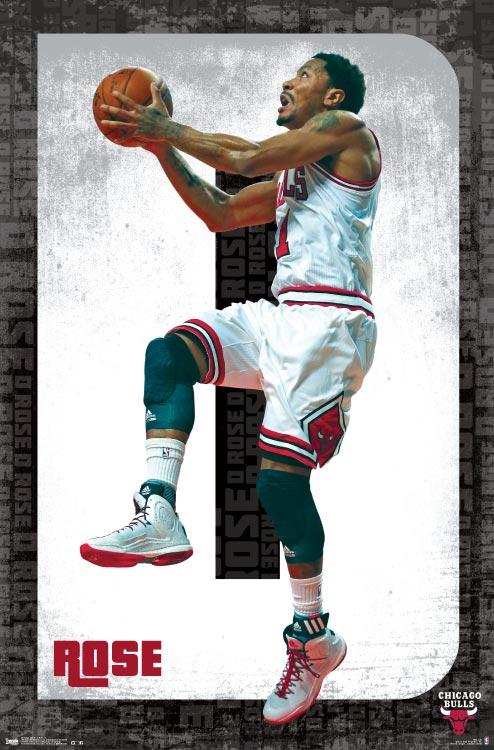 D Rose – NBA Wall Poster