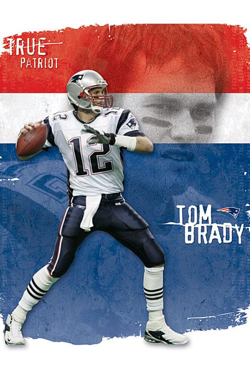 Tom Brady – NFL Wall Poster